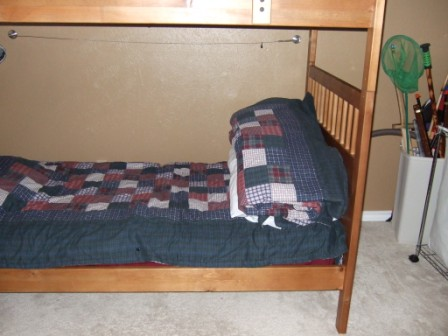 DIY, no-sew kids' bedrolls make temporary sleeping arrangements a snap